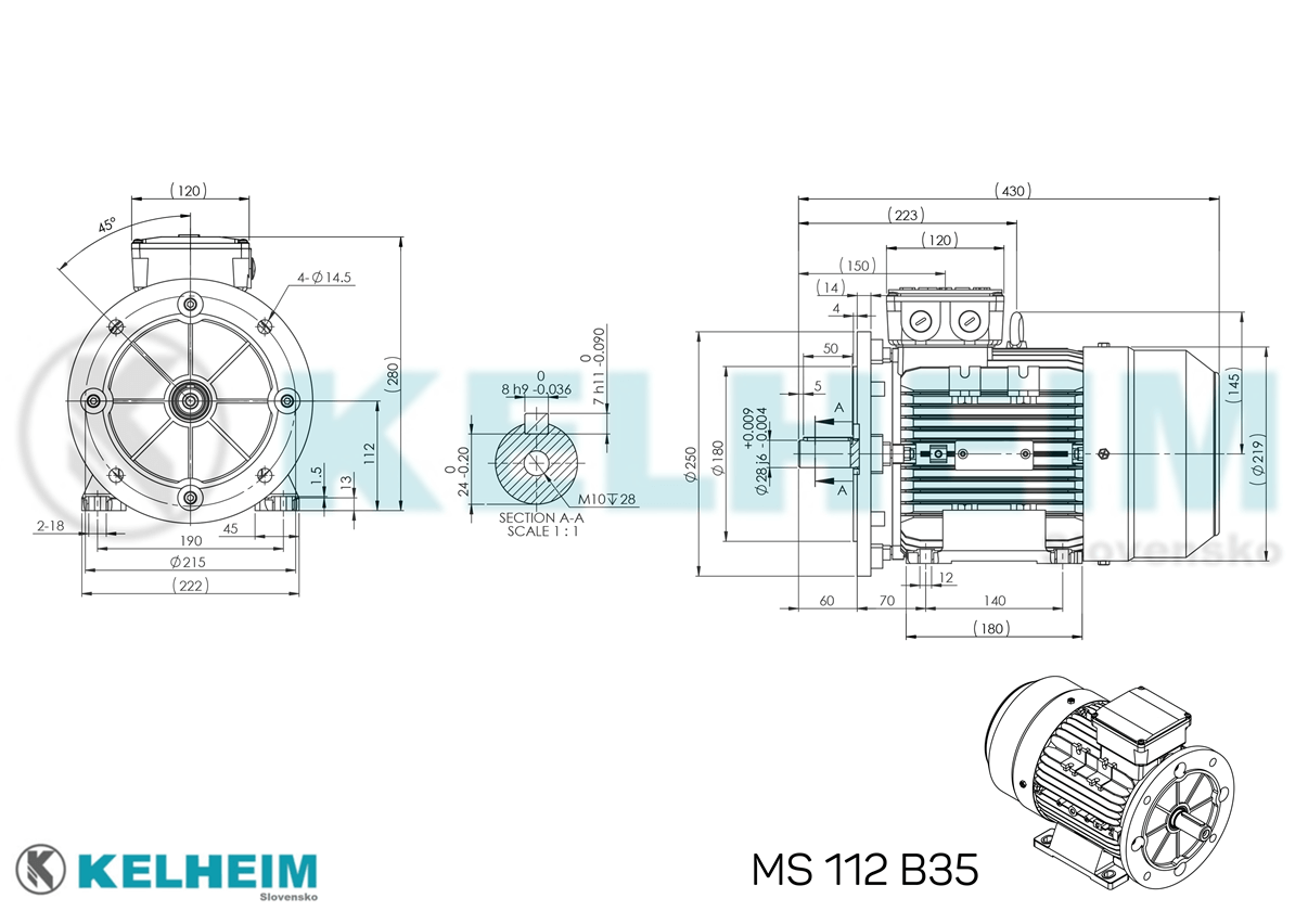 rozměrový výkres MS112B35