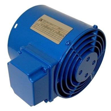 externí chladič elektromotoru
